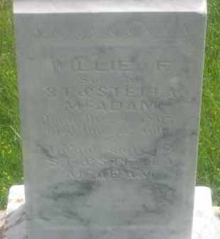 MCADAM, INFANT SON - Custer County, South Dakota | INFANT SON MCADAM - South Dakota Gravestone Photos