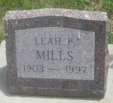 MILLS, LEAH  P. - Custer County, South Dakota | LEAH  P. MILLS - South Dakota Gravestone Photos