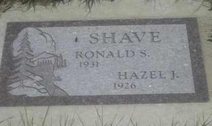 SHAVE, HAZEL  J. - Custer County, South Dakota | HAZEL  J. SHAVE - South Dakota Gravestone Photos