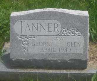 TANNER, GLEN       (BABY) - Custer County, South Dakota | GLEN       (BABY) TANNER - South Dakota Gravestone Photos