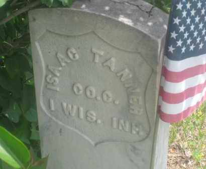 TANNER, ISAAC - Custer County, South Dakota   ISAAC TANNER - South Dakota Gravestone Photos