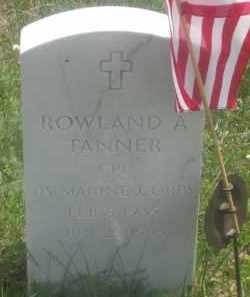 TANNER, ROWLAND  A. - Custer County, South Dakota | ROWLAND  A. TANNER - South Dakota Gravestone Photos