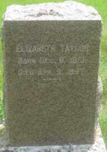 TAYLOR, ELIZABETH - Custer County, South Dakota   ELIZABETH TAYLOR - South Dakota Gravestone Photos