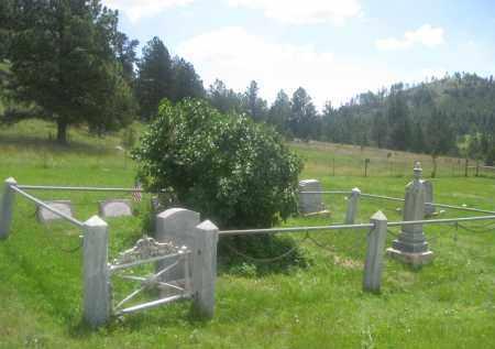 THOMAS, FAMILY PLOT - Custer County, South Dakota | FAMILY PLOT THOMAS - South Dakota Gravestone Photos