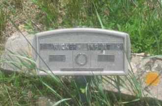 WICKER, INFANT - Custer County, South Dakota | INFANT WICKER - South Dakota Gravestone Photos