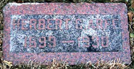 ARFF, HERBERT - Davison County, South Dakota | HERBERT ARFF - South Dakota Gravestone Photos