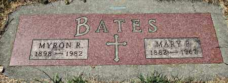 BATES, MYRON - Davison County, South Dakota | MYRON BATES - South Dakota Gravestone Photos