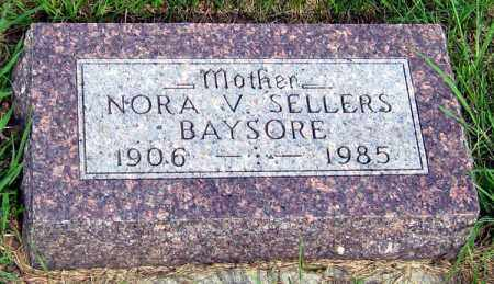 BAYSORE, NORA - Davison County, South Dakota | NORA BAYSORE - South Dakota Gravestone Photos