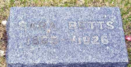 BETTS, SARA - Davison County, South Dakota | SARA BETTS - South Dakota Gravestone Photos
