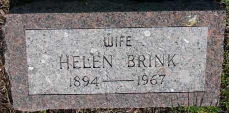 BRINK, HELEN - Davison County, South Dakota | HELEN BRINK - South Dakota Gravestone Photos