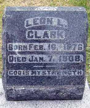 CLARK, LEON - Davison County, South Dakota | LEON CLARK - South Dakota Gravestone Photos