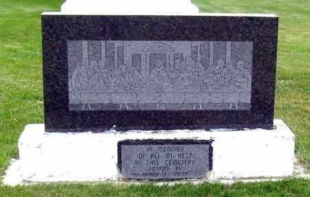 *EMSLEY, IN MEMORY STONE - Davison County, South Dakota | IN MEMORY STONE *EMSLEY - South Dakota Gravestone Photos