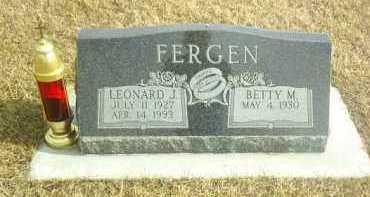 FERGEN, BETTY - Davison County, South Dakota | BETTY FERGEN - South Dakota Gravestone Photos
