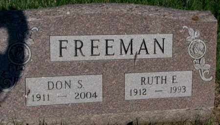 FREEMAN, RUTH E. - Davison County, South Dakota | RUTH E. FREEMAN - South Dakota Gravestone Photos