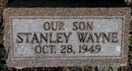 FREEMAN, STANLEY WAYNE - Davison County, South Dakota | STANLEY WAYNE FREEMAN - South Dakota Gravestone Photos