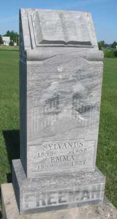 FREEMAN, EMMA - Davison County, South Dakota | EMMA FREEMAN - South Dakota Gravestone Photos