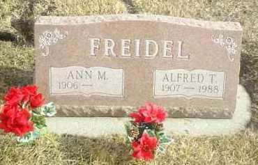 FREIDEL, ALFRED - Davison County, South Dakota   ALFRED FREIDEL - South Dakota Gravestone Photos