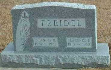FREIDEL, CLARENCE - Davison County, South Dakota | CLARENCE FREIDEL - South Dakota Gravestone Photos