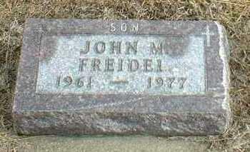 FREIDEL, JOHN - Davison County, South Dakota   JOHN FREIDEL - South Dakota Gravestone Photos