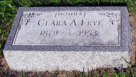 FRYE, CLARA - Davison County, South Dakota | CLARA FRYE - South Dakota Gravestone Photos
