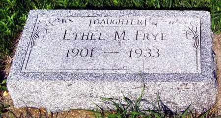 FRYE, ETHEL - Davison County, South Dakota | ETHEL FRYE - South Dakota Gravestone Photos