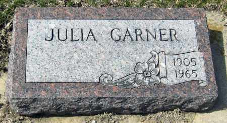 GARNER, JULIA - Davison County, South Dakota | JULIA GARNER - South Dakota Gravestone Photos