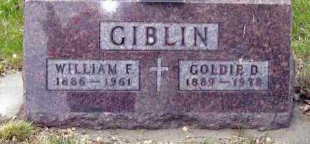GIBLIN, WILLIAM - Davison County, South Dakota | WILLIAM GIBLIN - South Dakota Gravestone Photos