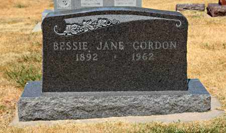 GORDON, BESSIE - Davison County, South Dakota | BESSIE GORDON - South Dakota Gravestone Photos