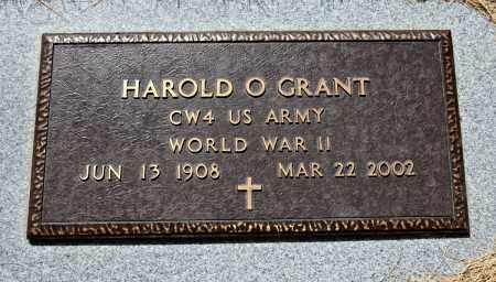 GRANT, HAROLD - Davison County, South Dakota | HAROLD GRANT - South Dakota Gravestone Photos