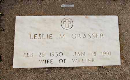 GRASSER, LESLIE - Davison County, South Dakota   LESLIE GRASSER - South Dakota Gravestone Photos