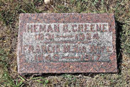 GREENE, HEMAN - Davison County, South Dakota | HEMAN GREENE - South Dakota Gravestone Photos