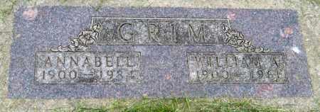 GRIMM, ANNABELLE - Davison County, South Dakota   ANNABELLE GRIMM - South Dakota Gravestone Photos