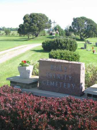 **HOLY TRINITY, ENTRANCE - Davison County, South Dakota | ENTRANCE **HOLY TRINITY - South Dakota Gravestone Photos