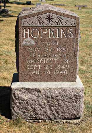 HOPKINS, LEMUEL - Davison County, South Dakota | LEMUEL HOPKINS - South Dakota Gravestone Photos