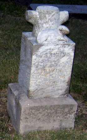 IRWIN, DARWIN - Davison County, South Dakota | DARWIN IRWIN - South Dakota Gravestone Photos
