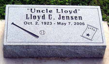 JENSEN, LLOYD - Davison County, South Dakota | LLOYD JENSEN - South Dakota Gravestone Photos