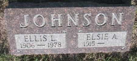 JOHNSON, ELSIE A. - Davison County, South Dakota | ELSIE A. JOHNSON - South Dakota Gravestone Photos