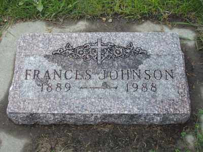 "LUNDGREN JOHNSON, LILLIAN ""FRANCES"" - Davison County, South Dakota 