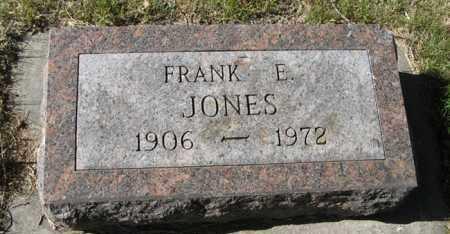 JONES, FRANK E. - Davison County, South Dakota | FRANK E. JONES - South Dakota Gravestone Photos