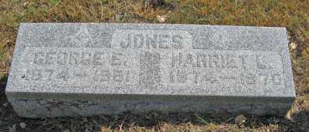 JONES, GEORGE E. - Davison County, South Dakota | GEORGE E. JONES - South Dakota Gravestone Photos
