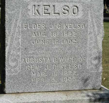 KELSO, AUGUSTA C. (CLOSEUP) - Davison County, South Dakota | AUGUSTA C. (CLOSEUP) KELSO - South Dakota Gravestone Photos