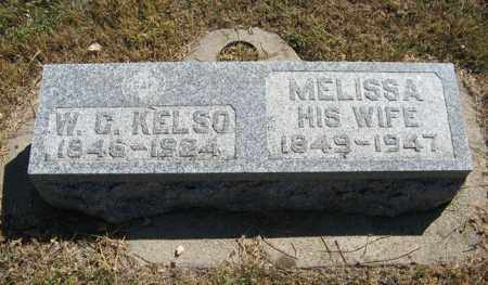 ARNOLD KELSO, MELISSA - Davison County, South Dakota | MELISSA ARNOLD KELSO - South Dakota Gravestone Photos