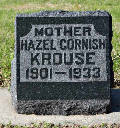 KROUSE, HAZEL - Davison County, South Dakota   HAZEL KROUSE - South Dakota Gravestone Photos