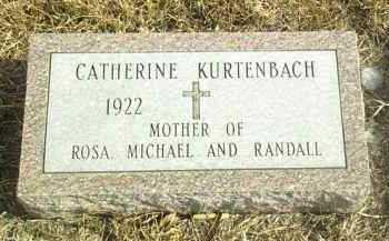 KURTENBACH, CATHERINE - Davison County, South Dakota | CATHERINE KURTENBACH - South Dakota Gravestone Photos