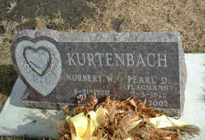 PLAGMANN KURTENBACH, PEARL D. - Davison County, South Dakota | PEARL D. PLAGMANN KURTENBACH - South Dakota Gravestone Photos