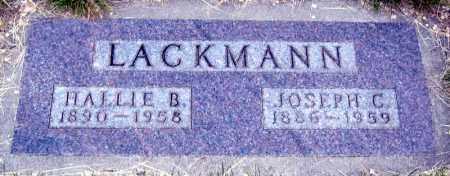 LACKMANN, JOSEPH - Davison County, South Dakota | JOSEPH LACKMANN - South Dakota Gravestone Photos