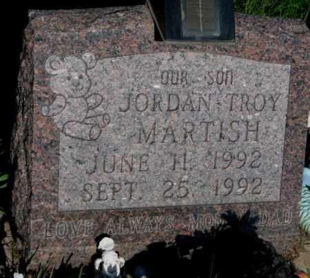 MARTISH, JORDAN TROY - Davison County, South Dakota | JORDAN TROY MARTISH - South Dakota Gravestone Photos