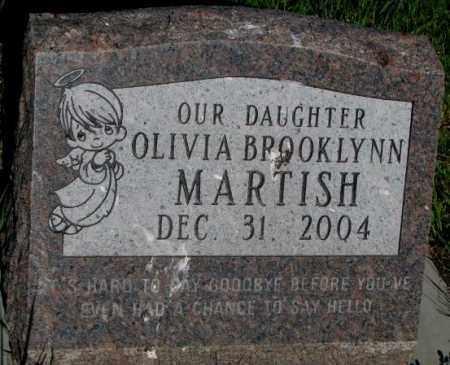 MARTISH, OLIVIA BROOKLYNN - Davison County, South Dakota | OLIVIA BROOKLYNN MARTISH - South Dakota Gravestone Photos