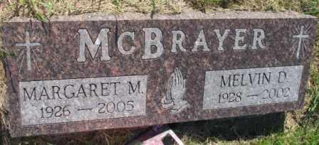 MCBRAYER, MARGARET M. - Davison County, South Dakota | MARGARET M. MCBRAYER - South Dakota Gravestone Photos