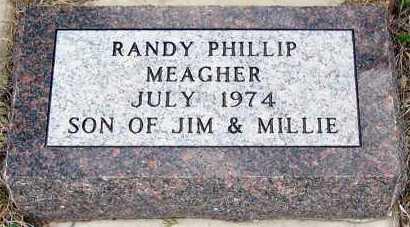MEAGHER, RANDY - Davison County, South Dakota | RANDY MEAGHER - South Dakota Gravestone Photos